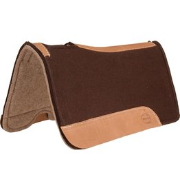 Mustang Chocolate Felt Wool Pad