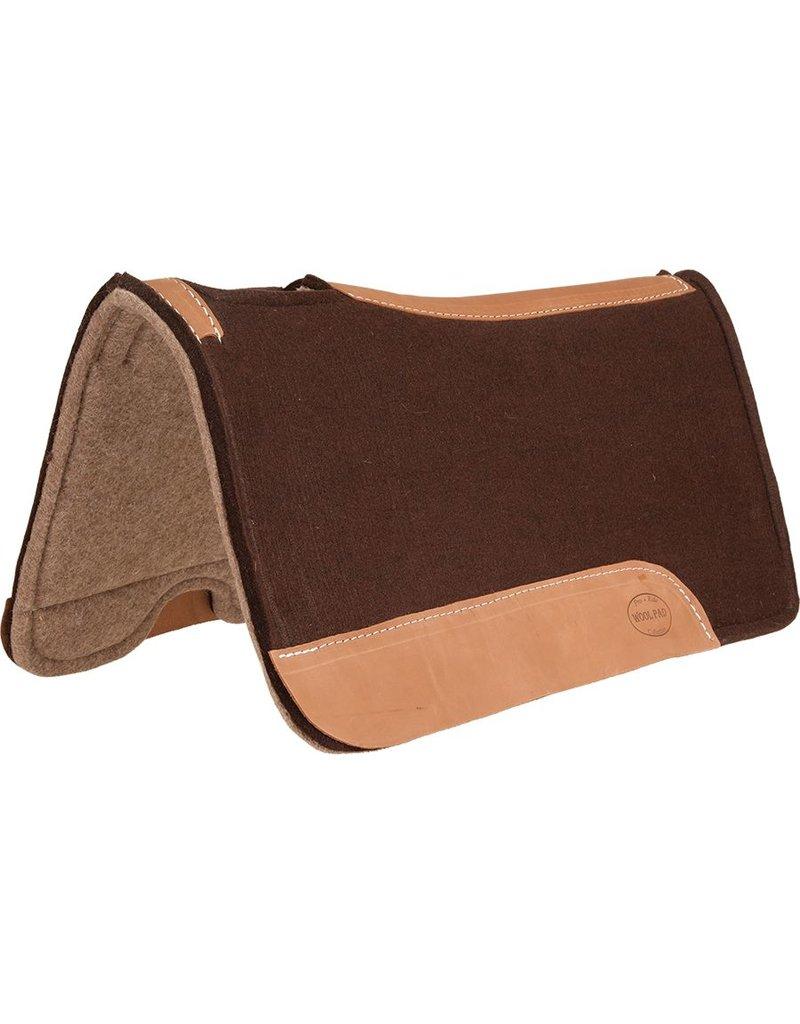 Mustang Chocolate Felt Wool Pad