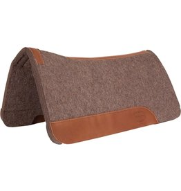 "Mustang Pressed Grey Wool 3/4"" Contoured Pad"