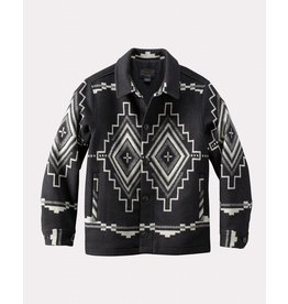 Pendleton Woolen Mills Pendleton Black Mesa Jacquard Button Front Jacket