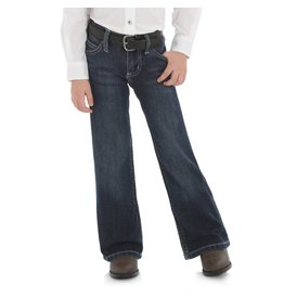 Wrangler Wrangler® Girls' Dark Blue Boot Cut Jean