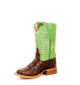 Anderson Bean Anderson Bean Kids' Chocolate Filet Fo Fish Green Sinsation Boots