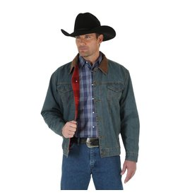 Wrangler Wrangler® Rustic Blanket Lined Denim Jacket