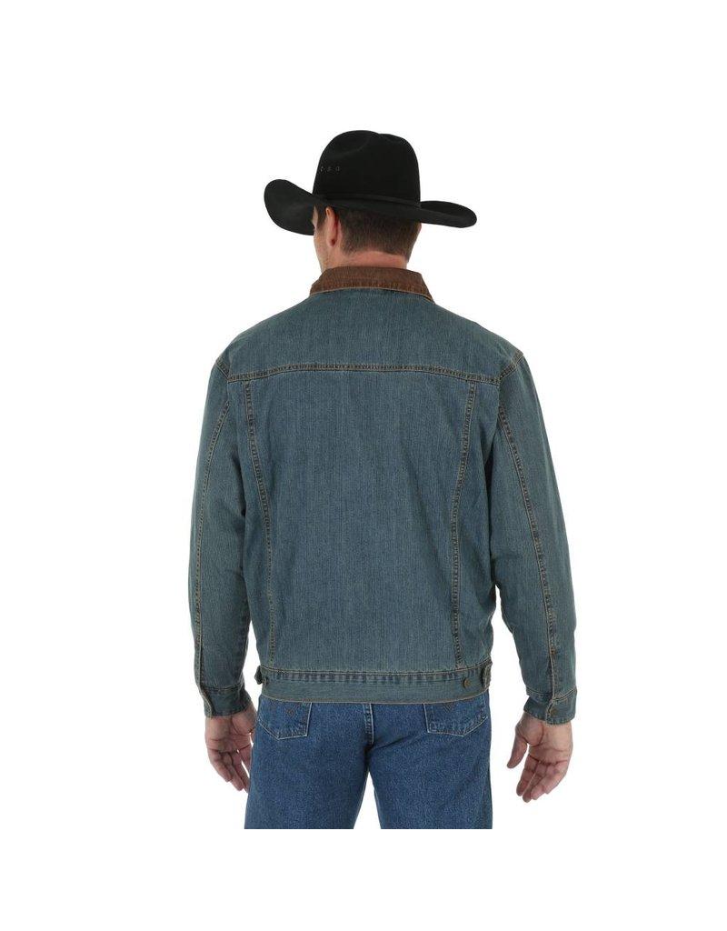 Wrangler Wrangler® Rustic Blanket Lined Denim Jacket