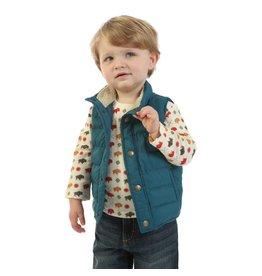 Wrangler Wrangler® Baby Teal Puffer Vest