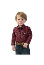 Wrangler Wrangler® Baby Plaid Long Sleeve Bodysuit