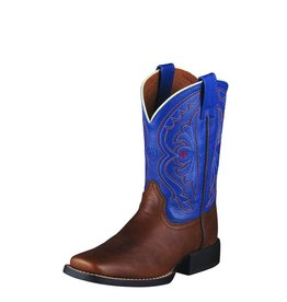Ariat Ariat Kids' Brown Oiled Rowdy Quickdraw Boots