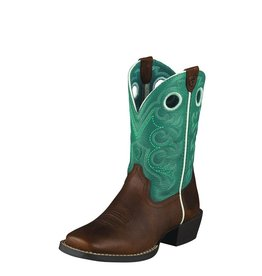 Ariat Ariat Kids' Brown Oiled Rowdy Crossfire Boots
