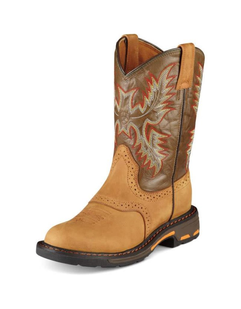 Ariat Ariat Kids' Aged Bark WorkHog Boots
