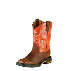 Ariat Ariat Kids' Dark Earth WorkHog Boots