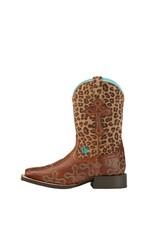 Ariat Ariat Kids' Wood Leopard Crossroads Boots