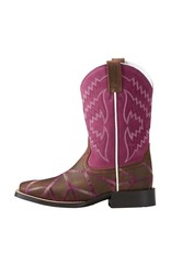 Ariat Ariat Kids' Distressed Brown Twisted Tycoon Boots