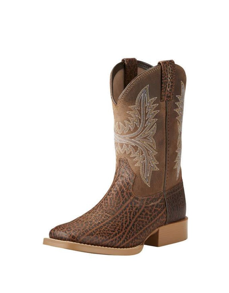 Ariat Ariat Kids' Adobe Tan Cowhand Boots