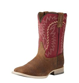 Ariat Ariat Kids' Tan Oiled Gaucho Relentless Elite Boots