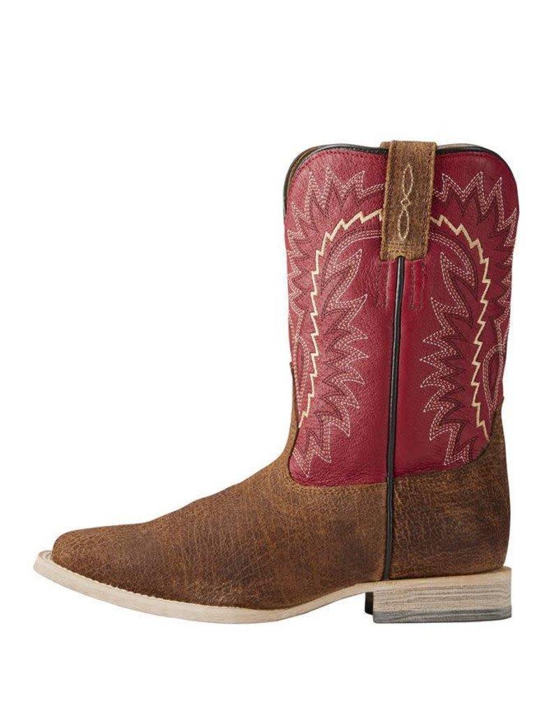 Ariat Ariat Kids' Tan Oiled Gaucho Relentless Elite Boots