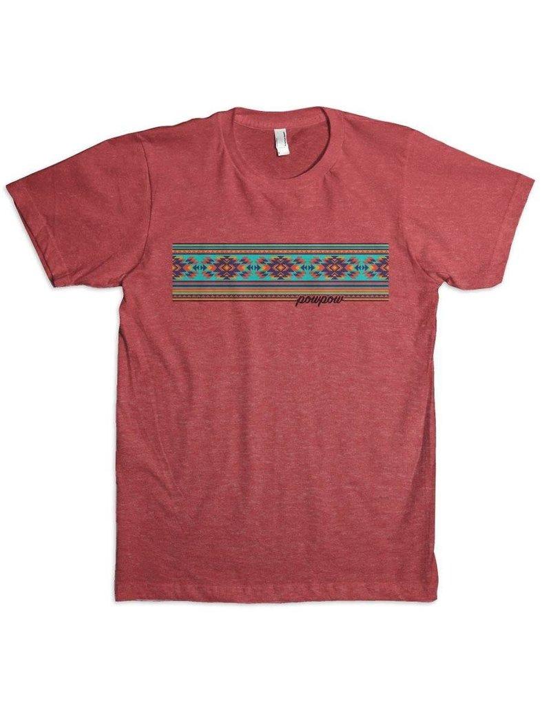 Leroy Gibbins PowPow Aztec Banner T