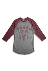 Dale Brisby Rodeo Time 3/4 Sleeve Baseball T