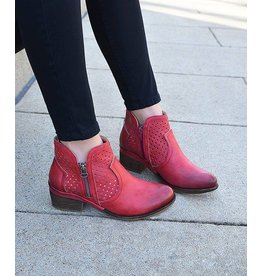 Corkys Footwear Bismark Red Booties