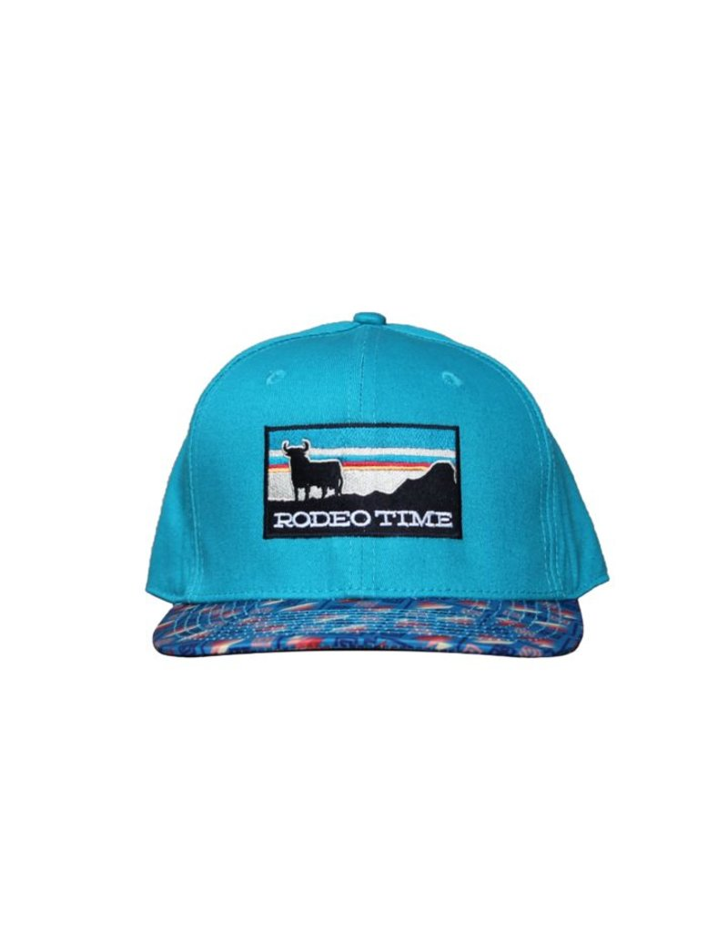 Dale Brisby Sunset Teal Crown/Santa Fe Bill Cap