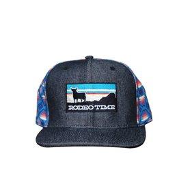 Dale Brisby Sunset Santa Fe Back/Black Denim Cap