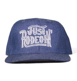 Dale Brisby Just Rodeoin Chambray Cap