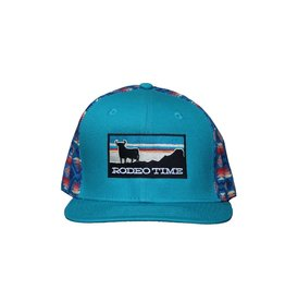 Dale Brisby Sunset Santa Fe Back/Teal Cap
