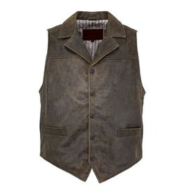 Outback Trading Company Outback Men's Brown Chief Vest