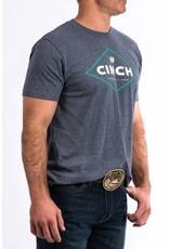 Ariat Cinch Men's Gray Logo Tee