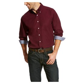Ariat Ariat Men's Beatroute Solid Long Sleeve Shirt