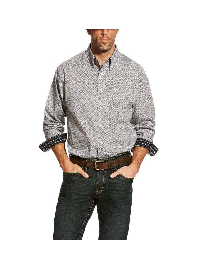 Ariat Ariat Men's Black Zemo Print Long Sleeve Shirt
