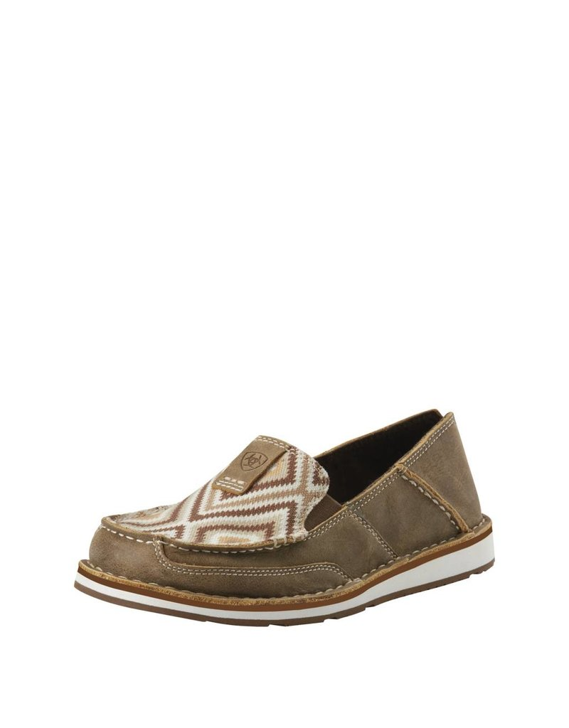 0359e0580430 Ariat Women's Brown Bomber Tan Aztec Cruisers - Ray's Western Wear ... ariat  cruisers