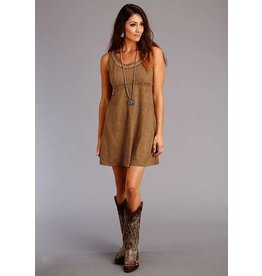 Stetson Faux Suede Sleeveless Dress