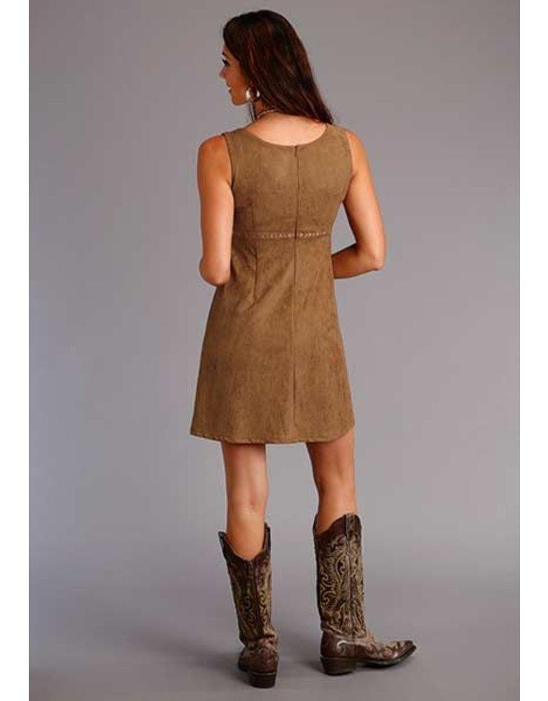 Stetson Faux Suede Sleeveless Dress