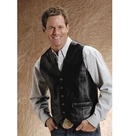Roper Men's Lamb Touch Nappa Leather Vest
