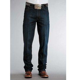 Stetson Stetson Men's Standard Straight Leg Dark Rinse Jean