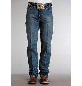 Stetson Stetson Men's Standard Straight Leg Medium Stone Wash Jean