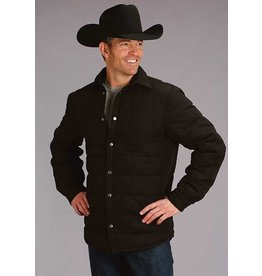 Stetson Stetson Men's Black Canvas Shirt Jacket