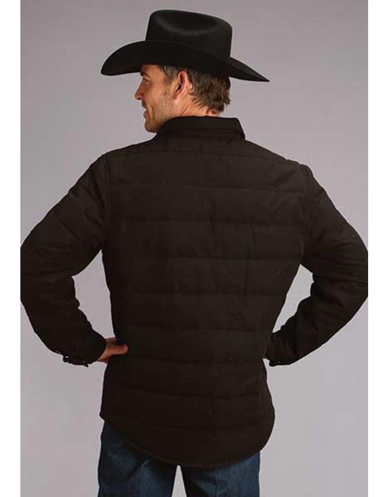 Stetson Stetson Men's Black Canvas Shirt Jacket