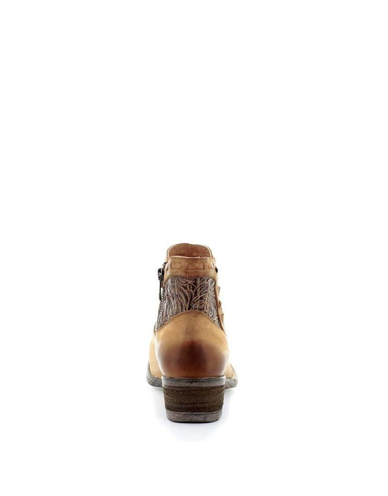 Circle G Circle G Urban Engraved Ankle Boots