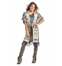 Powder River Outfitters Powder River Aztec Sweater Kimono