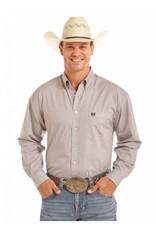 Panhandle Slim Men's Khaki Long Sleeve Button Down Shirt