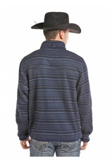 Powder River Outfitters Quarter Zip Horizontal Ombre Pullover