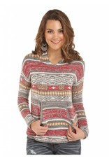 Rock & Roll Cowgirl Light Weight Aztec Hoodie