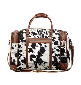 Myra The Grand Cowhide Hair-On Travel Bag