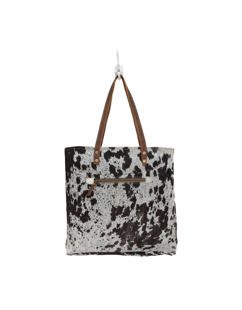 Myra Combination Cowhide All Around Purse