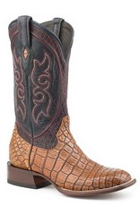 Stetson Stetson Men's Taupe Alligator Leather Sole Boots