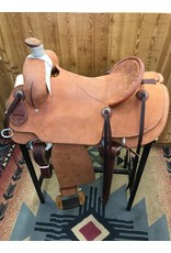 "Cactus Saddlery 15.5"" Tyler Rose Rough Out Cactus Rancher"
