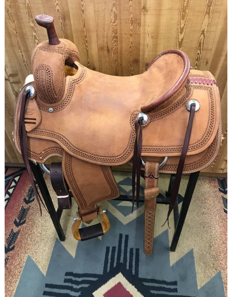 "Cactus Saddlery 15.5"" Cactus Rough Out Ranch Cutter"