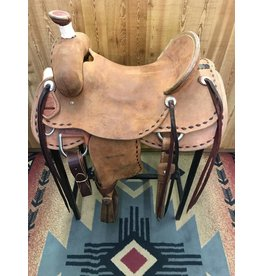 "Teskey's 16.5"" Ranch Association Rough Out Saddle"