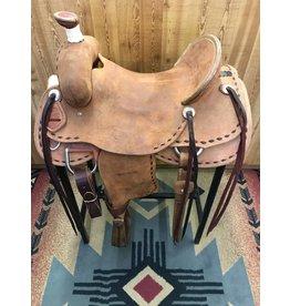 """Teskey's 16.5"""" Ranch Association Rough Out Saddle"""